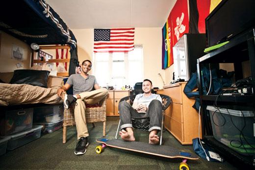 Students make dorm rooms their own  Emory University  Atlanta GA