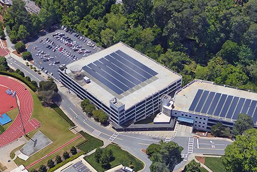 Transformative Solar Power Agreement Will Help Emory Reduce Greenhouse Gas Emissions Emory University Atlanta Ga