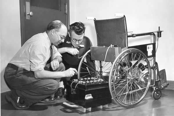 The Maker George Klein and the first electric wheelchair