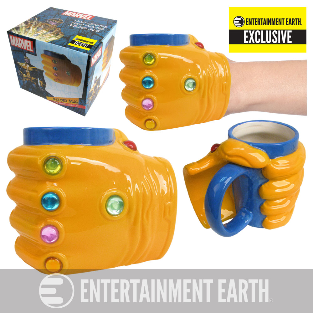 Image result for infinity gauntlet coffee mug