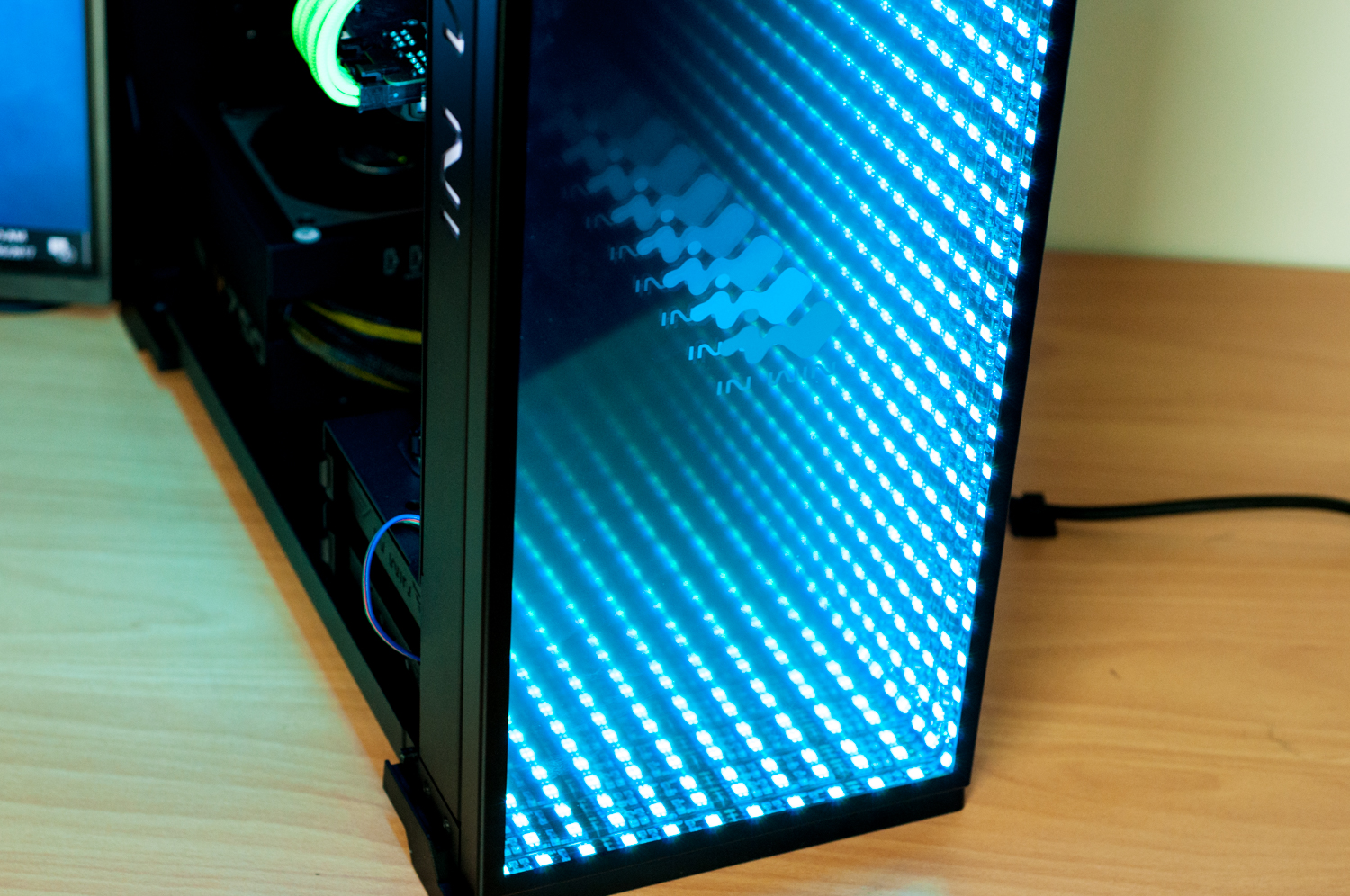 Valkyrie Custom Gaming PC In In Win 805C Infinity RGB Evatech News