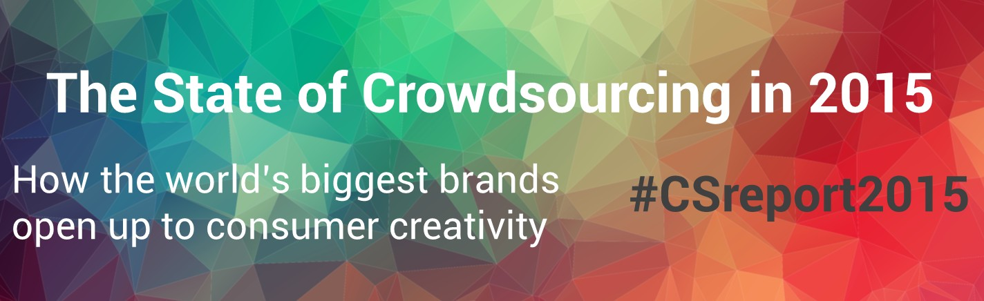 "Click to download the ""The state of crowdsourcing in 2015"" report on eYeka"