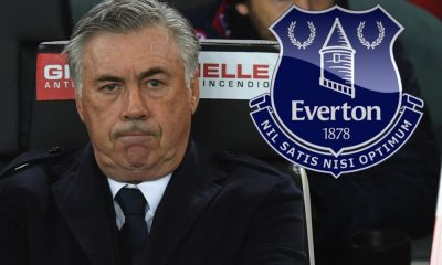 Ancelotti all'Everton