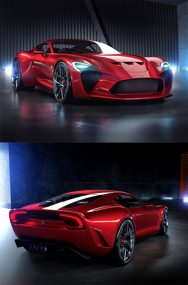 612 GTO III Renderings for Sasha Selipanov