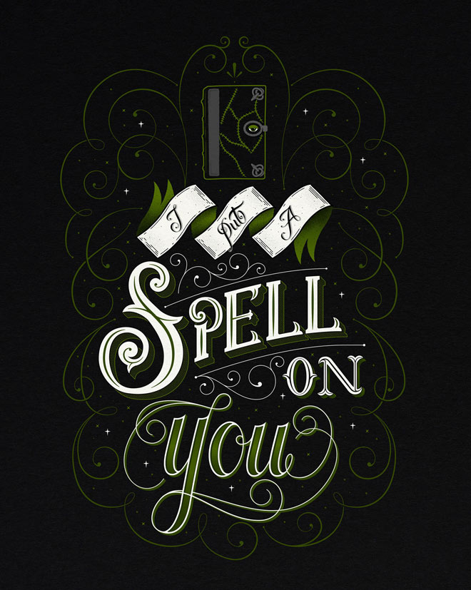I Put A Spell On You by Laura Scribbles