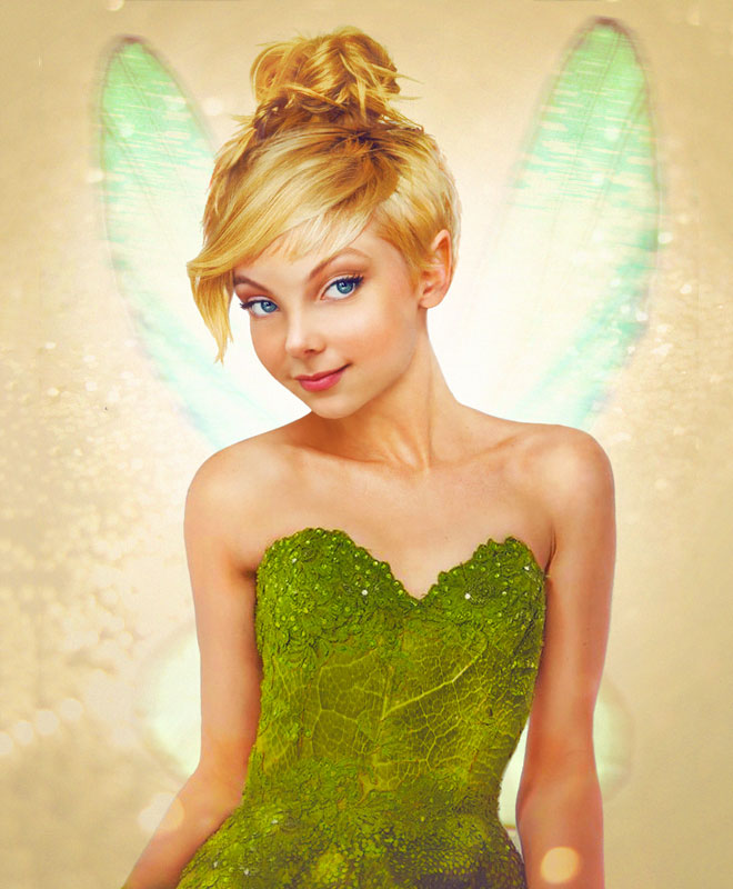 Tinkerbell from Peter Pan by Jirka Vaatainen