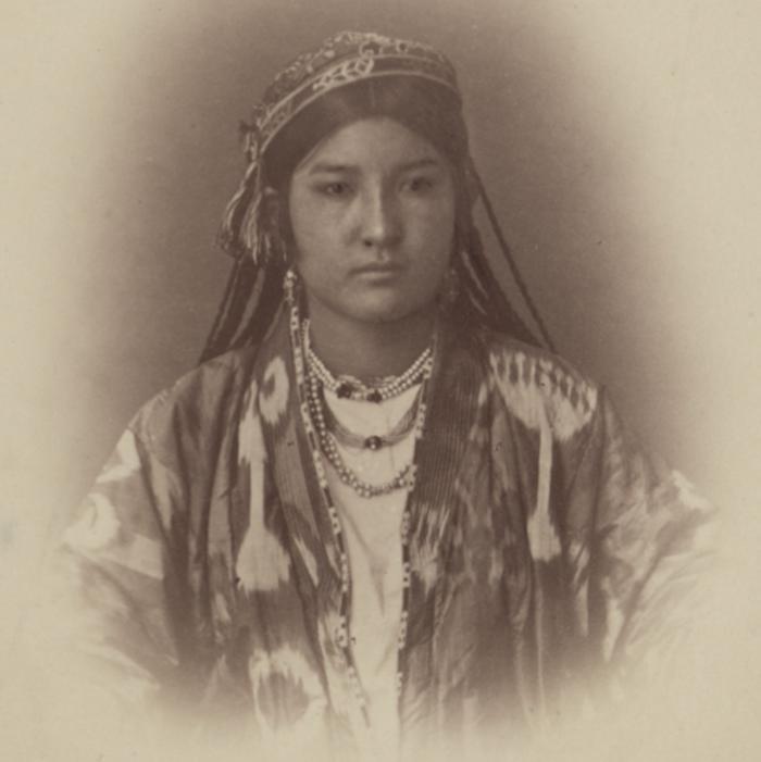 Портрет узбечки Огуль-Ай