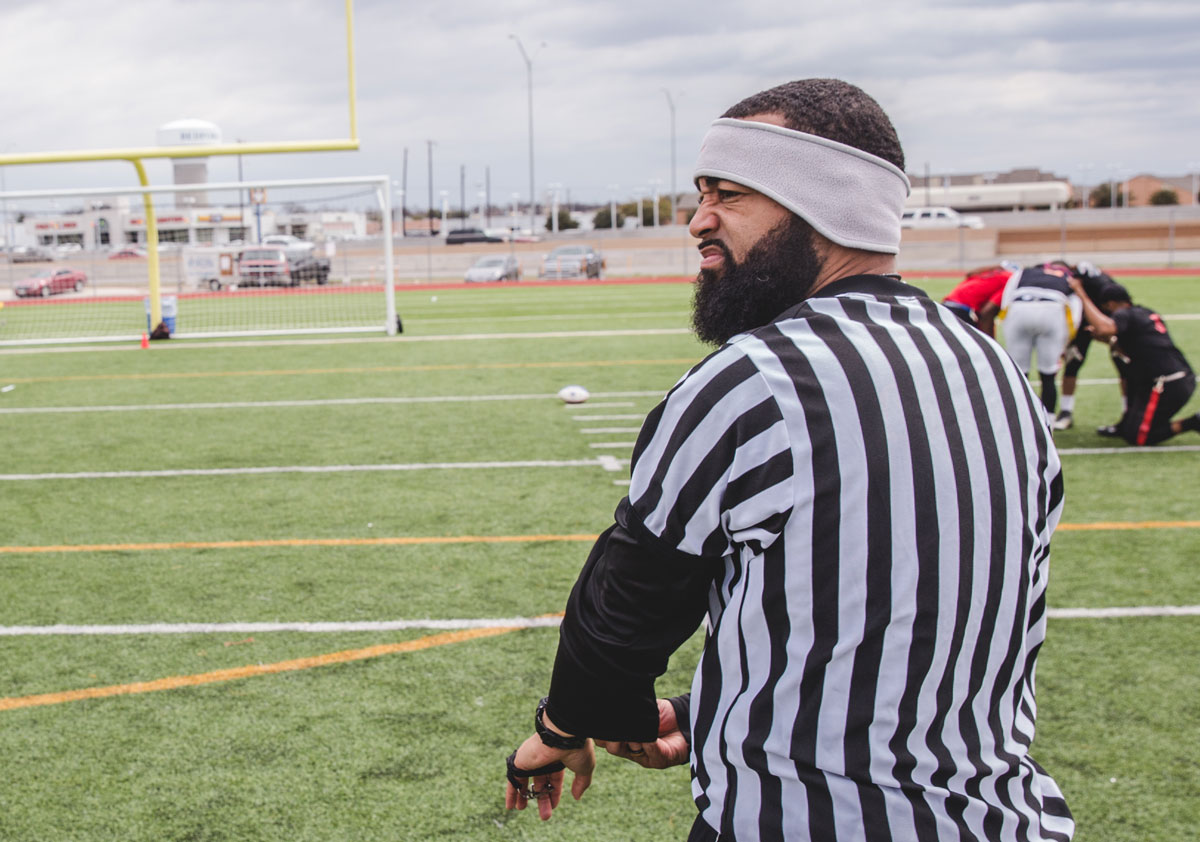 hight resolution of what makes a good flag football game official