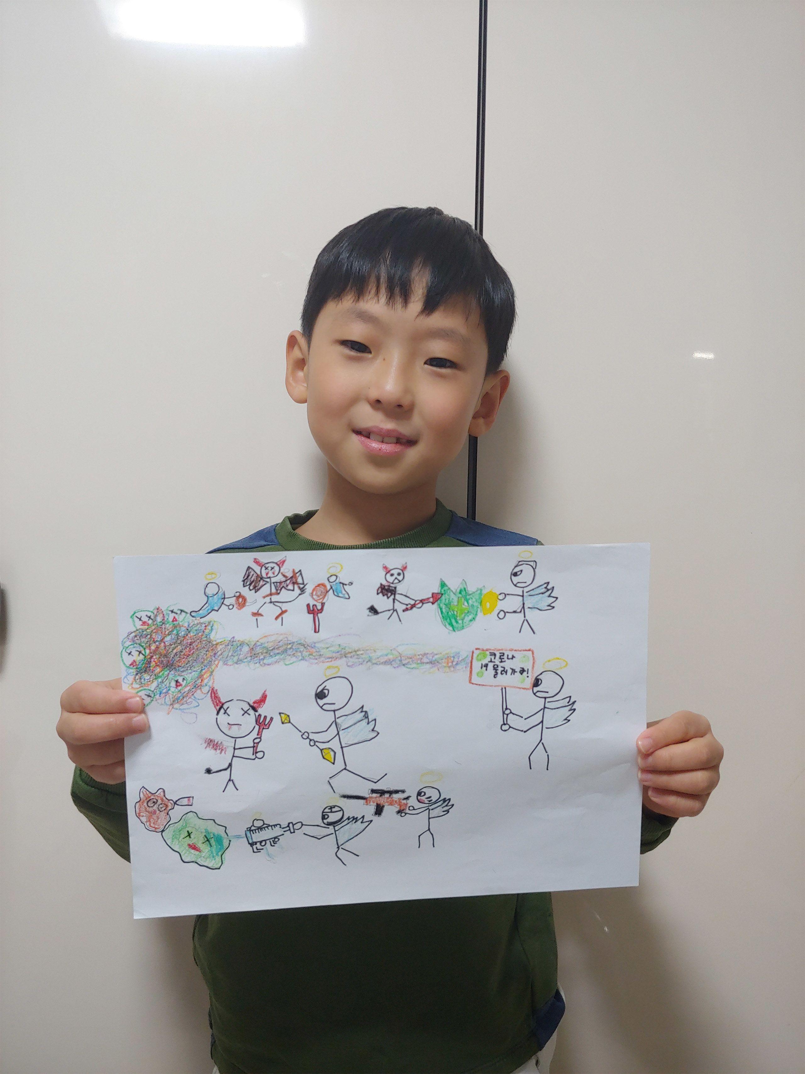 Cara Menggambar Corona : menggambar, corona, Pandemi, Virus, Corona, Anak-anak, Dunia