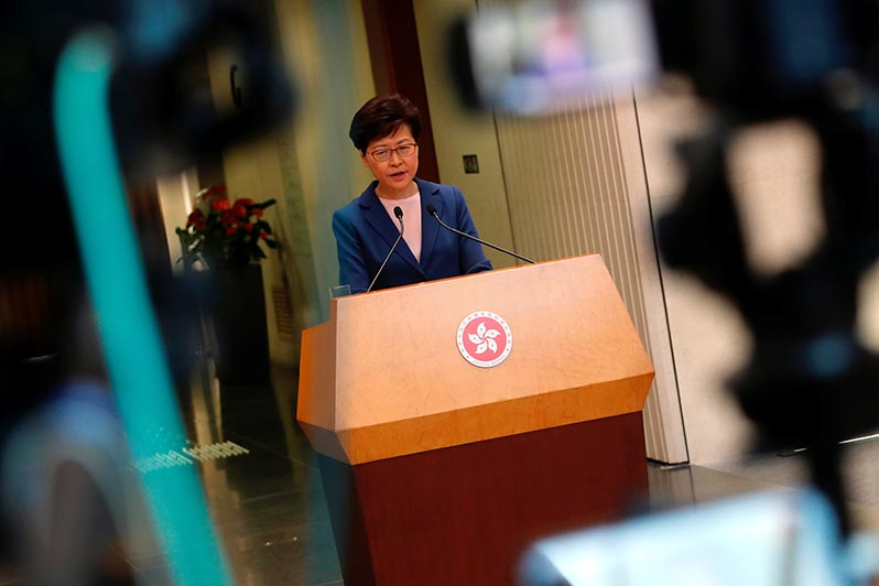 從《逃犯條例》到五大訴求:香港示威最新全景圖 - BBC News 中文