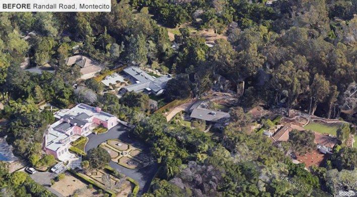 Randall Road, Montecito, before