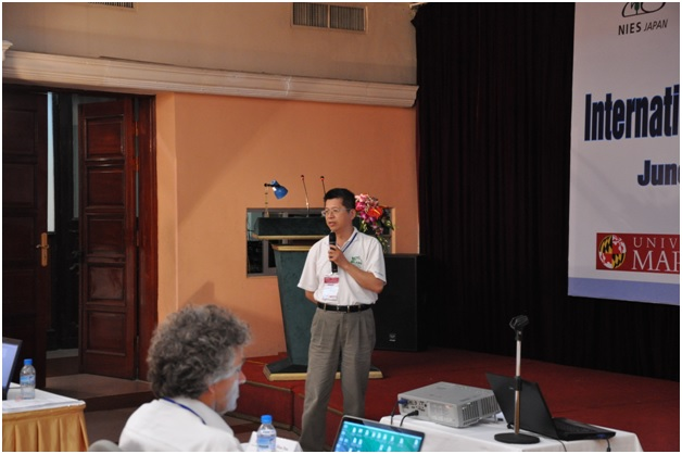 Mr.Jeff Reid (NRL, USA)/George Lin (National Central University, Taiwan)