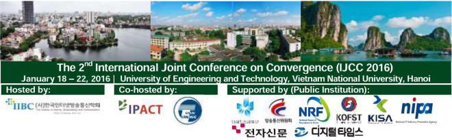 The 2nd International Joint Conference on Convergence