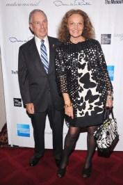 Michael Bloomberg and Diane von Furstenberg