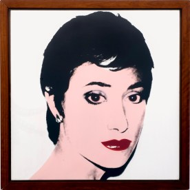 Verin's portrait by Andy Warhol.