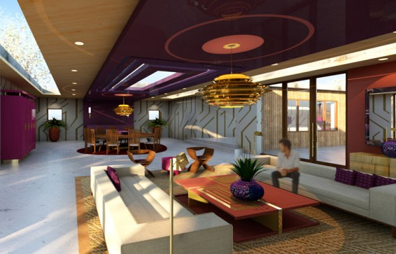 Modern Interior Living Space