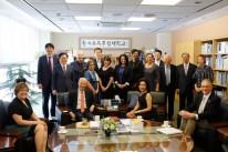 SUNY Korea, FIT, and SUNY presidents and adminstrators