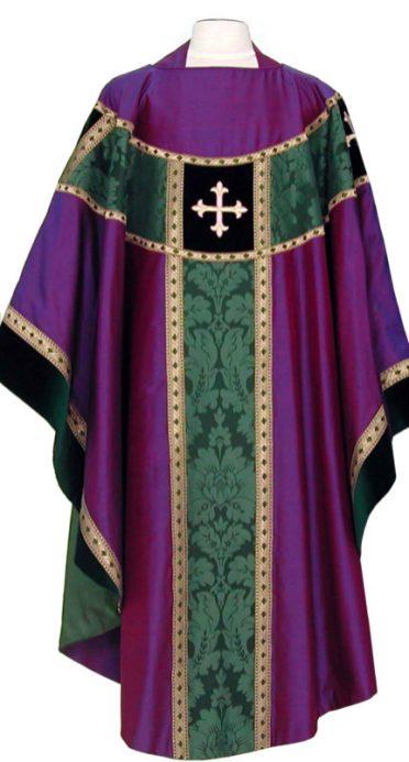 Advent purple & green