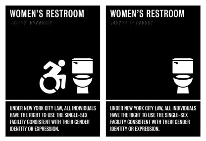 New Women's Sign