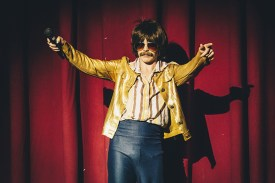 "Burke as ""Carl"" (Photo: Rodrigo Lizarraga)"