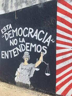 """We do not understand this 'democracy.'"""