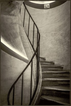 S for Stairs, by Max Hilaire.