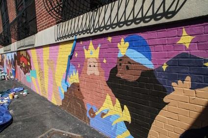 three kings mural