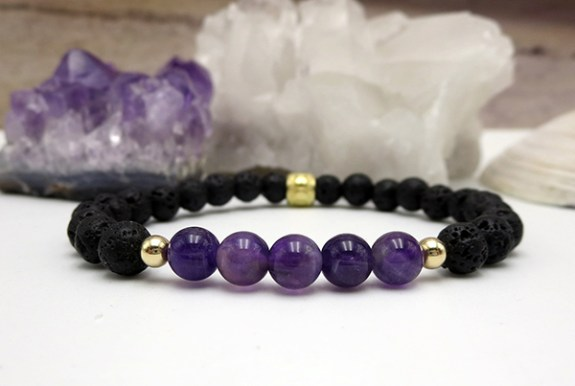 Jewels For Hope's Amethyst Bracelet