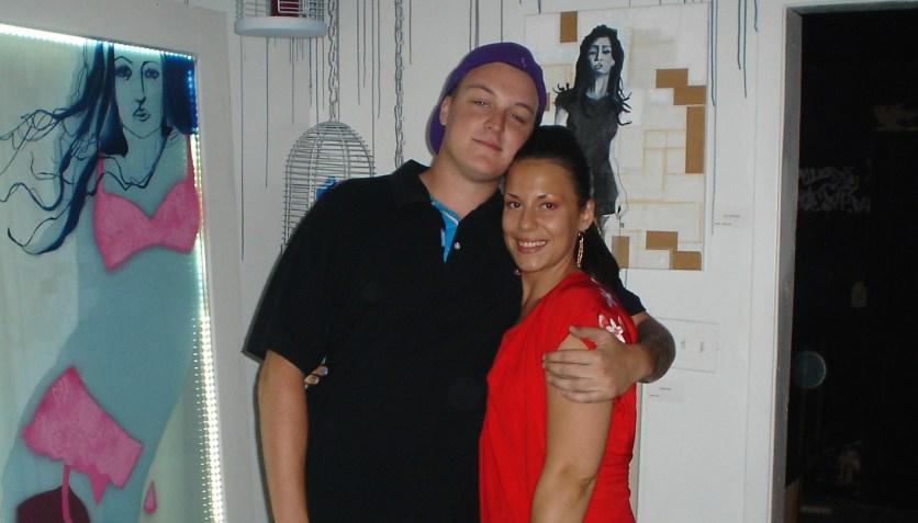 Angela Finochio and Jared Long