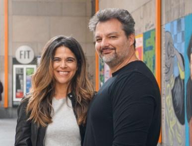 JohnRivoli and LucyFierro