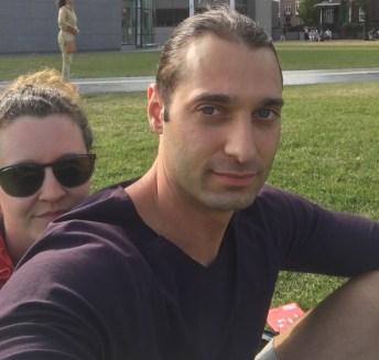 Nick Parisse and Lexi Townsend Parisse