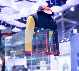 A high-tech jacket inspired by the Tommy Hilfiger brand.