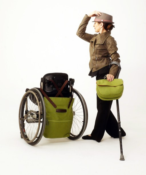 Fashion Design MFA students designed adaptable accessories for people with Cerebral Palsy.