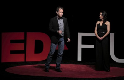 Brian Machovina and Eileen McHale talk about the negative effects of livestock production and meat consumption on the environment.