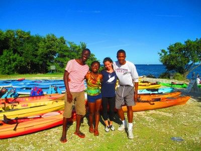 GLADES members attend an environmental leadership workshop at Deering Estate in where they went kayaking and participated in other team-building activities.