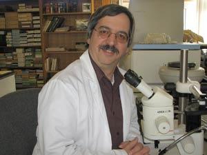 Richard Falco, Ph.D., is the state's metropolitan regional medical entomologist. Photo by Tom Daniels