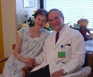 Dr--Michael Brescia and patient