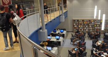 140 Library from Above