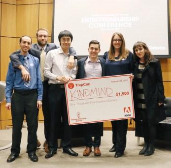 Kind Mind App Creators win award