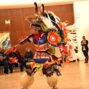 Kodiak Tarrant dances.