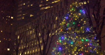 Lincoln Center Christmas Tree