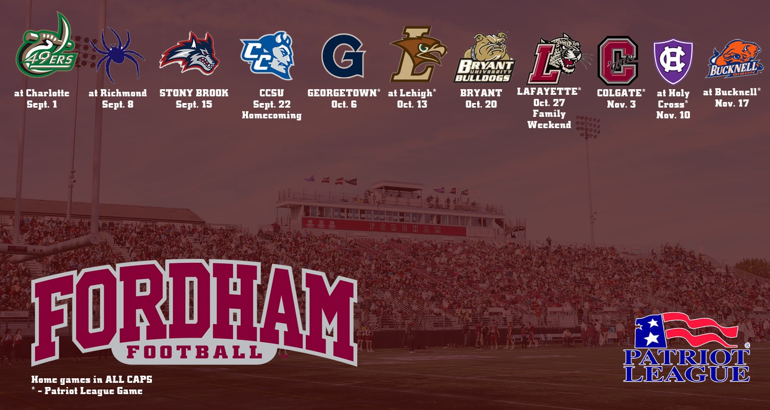 fordham football announces 2018