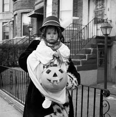 Woman with Baby and Pumpkin, Sunset Park, Brooklyn