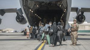 Kabul Afghanistan airport evacuation US troops