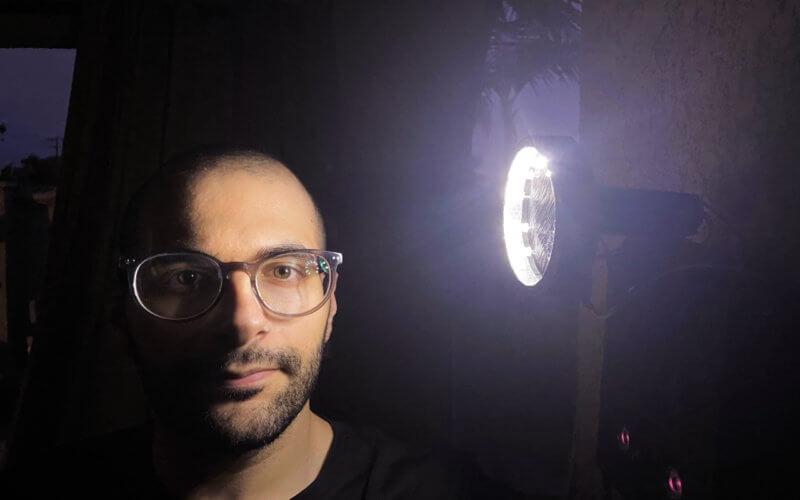 James Samawi with Surveillance Spotlight