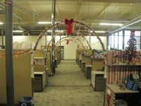27th Ave. office Christmas decorations - GCU Today
