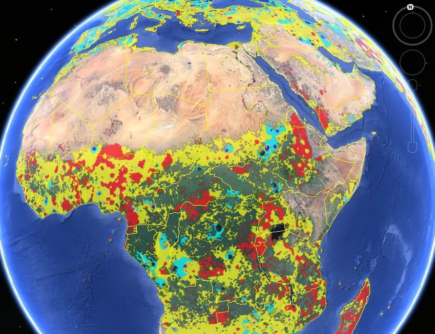 Asking the swarm for land use intelligence crowd sourced maps show a new global cropland map combines multiple satellite data sources reconciled using crowdsourced accuracy checks to provide an improved record of total gumiabroncs Gallery
