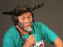 "Redefine ""ecological awareness"" at Global Landscapes Forum, urges indigenous leader Marcos Terena"
