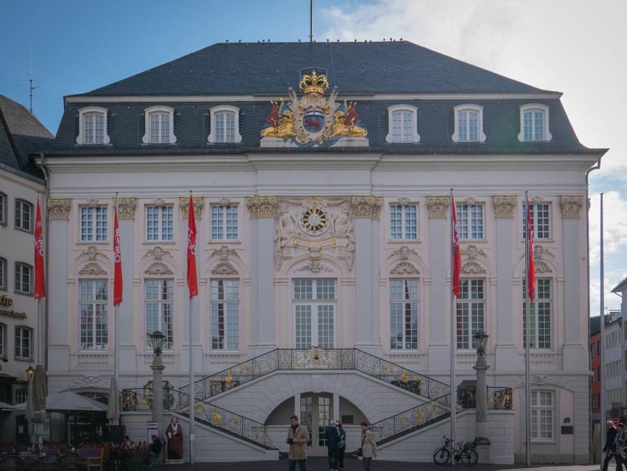 Altes Rathaus, the old town hall of Bonn. C.K. Koay, Flickr