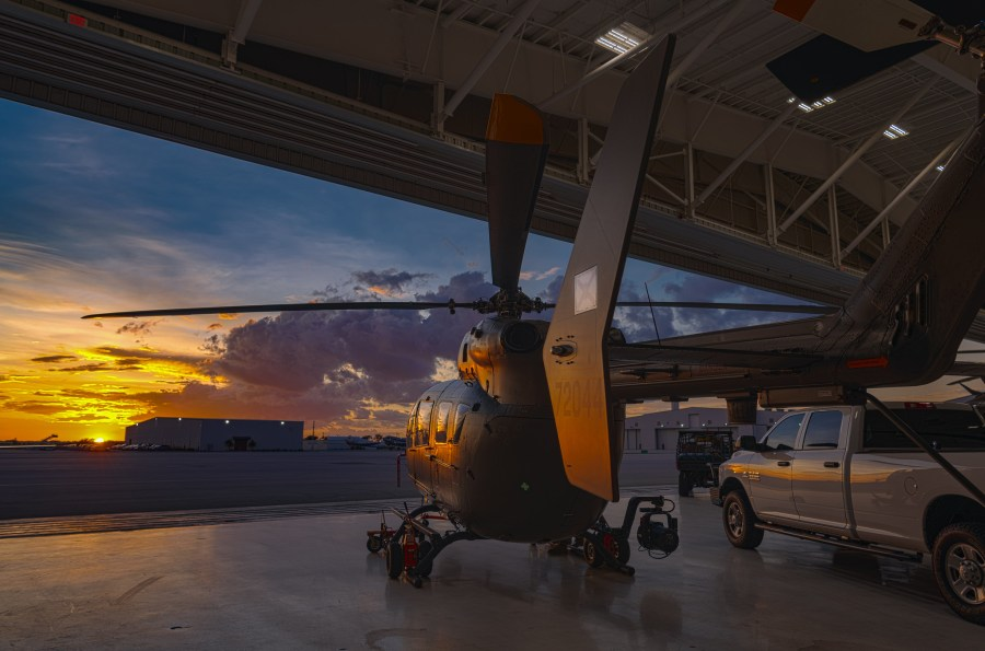 Florida National Guard soldiers and airmen load equipment and prepare for potential missions responding to Hurricane Dorian. Ching Oettel, Flickr